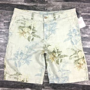 Tommy Bahama Relax Linen Trouser Shorts Sz 36